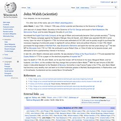 John Walsh (scientist)