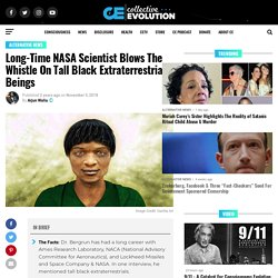 Long-Time NASA Scientist Blows The Whistle On Tall Black Extraterrestrial Beings