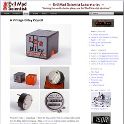 Evil Mad Scientist Laboratories - How to make the simplest elect