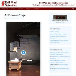 Evil Mad Scientist Laboratories - Making the World a Better Place, One Evil Mad Scientist at a Time