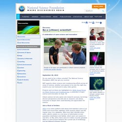 NSF Citizen Science