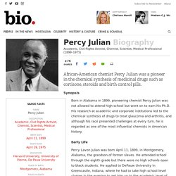 Percy Julian Biography