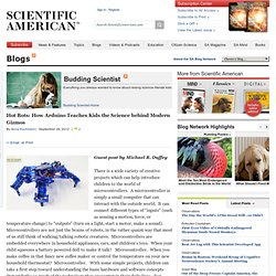 Hot Bots: How Arduino Teaches Kids the Science behind Modern Gizmos