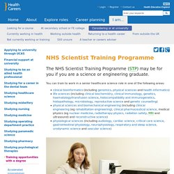 Scientist Training Programme