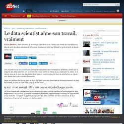 Le data scientist aime son travail, vraiment - ZDNet