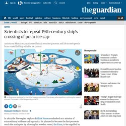 Scientists to repeat 19th-century ship's crossing of polar ice cap