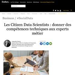 Les Citizen Data Scientists : donner des compétences techniques aux experts métier
