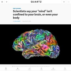 "Scientists say your ""mind"" isn't confined to your brain, or even your body — Quartz"