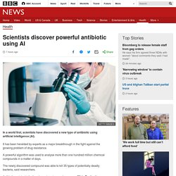 Scientists discover powerful antibiotic using AI