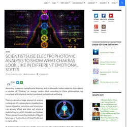 Scientists Use Electrophotonic Analysis To Show What Chakras Look Like In Different Emotional States