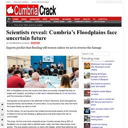 Scientists reveal: Cumbria's Floodplains face uncertain future