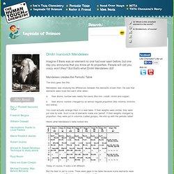 Famous Scientists - Dmitri Ivanovich Mendeleev
