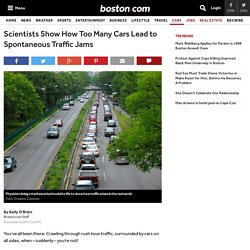 Scientists Show How Too Many Cars Lead to Spontaneous Traffic Jams - News and reviews