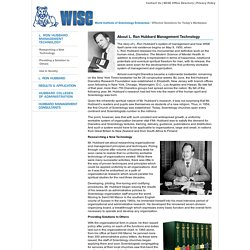 WISE — World Institute of Scientology Enterprises
