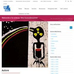 Nietzsche e la scienza. Una riconsiderazione – S&F_scienzaefilosofia.it