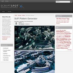 SciFi Pattern Generator