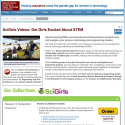 SciGirls Videos