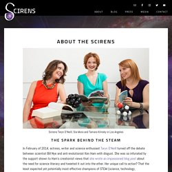 Meet the Scirens, the Screen Sirens for Science