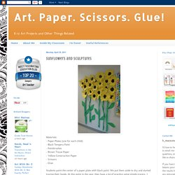 Sunflowers and Sculptures