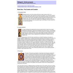 Scivias book 1 - synopsis