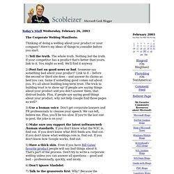 Scobleizer: Microsoft Geek Blogger