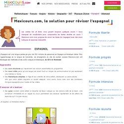 Soutien scolaire en Espagnol - cours et exercices - Maxicours