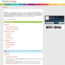 Prendre des notes, Soutien scolaire, Cours Français, Maxicours
