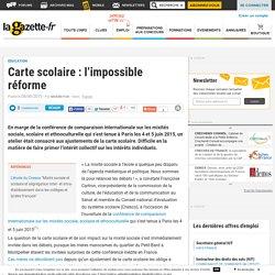 Carte scolaire : l'impossible réforme