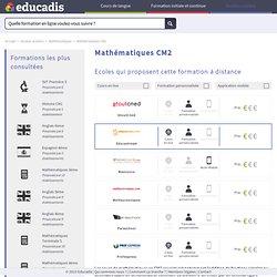 Soutien scolaire en ligne Mathématiques CM2