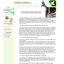 [L'échec scolaire.com] les 7 profils d'apprentissage