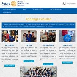 Echange Scolaire - CRJ : Centre Rotarien pour la Jeunesse