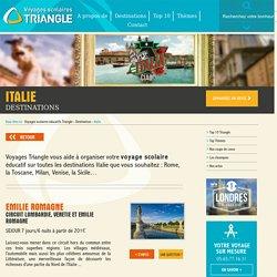 Voyages scolaires éducatifs Triangle