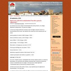 Quel est le coût de la scolarisation d'un élève pour la collectivité? · Mairie Semur-en-Brionnais Infos