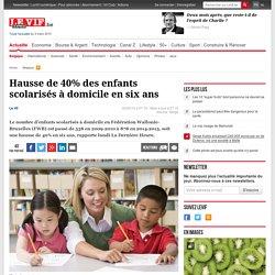 Hausse de 40% des enfants scolarisés à domicile en six ans