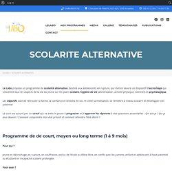 SCOLARITE ALTERNATIVE - LeLabo