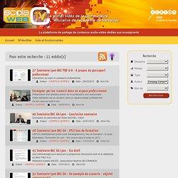 Scolawebtv CRDP de Versailles