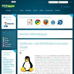 Scolbuntu : une distribution Linux pour l'école