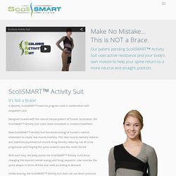 Scoliosis Activity Suit