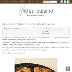 » Scones butternut et noix de pécan