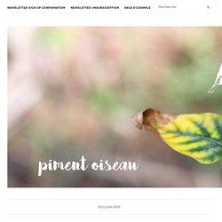 Scones à la mimolette vieille et à l'aillet – PIMENT OISEAU