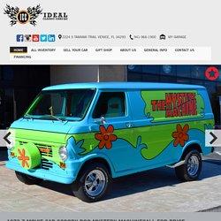 Used 1972 Z Movie CAR Scooby DOO Mystery Machine
