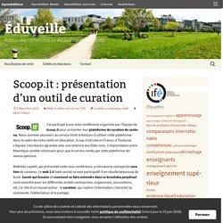 Scoop.it : présentation d'un outil de curation