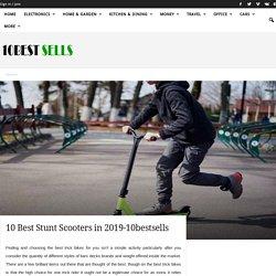 Top10 Best Stunt Scooters in 2019-10bestsells