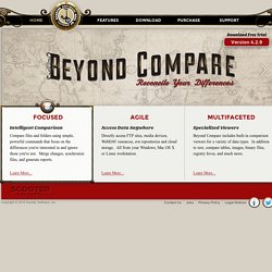 Beyond Compare - The file compare, folder compare and remote dir