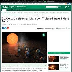 Scoperto un sistema solare con 7 pianeti 'fratelli' della Terra - Spazio & Astronomia