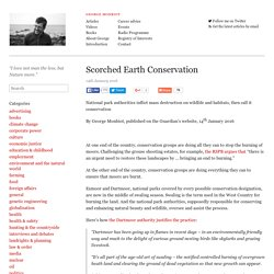 Scorched Earth Conservation