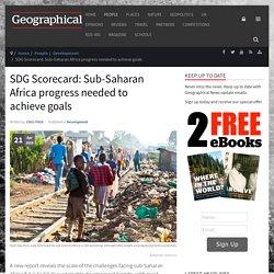 SDG Scorecard: Sub-Saharan Africa progress needed to achieve goals