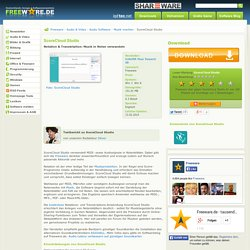 ScoreCloud Studio zum Download auf Freeware.de