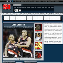 NBA news, scores, stats, fantasy - Pro Basketball