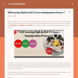 Will Scoring High In IELTS Eases Immigration Process ?